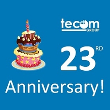 Tecom Group is celebrating its 23rd Anniversary